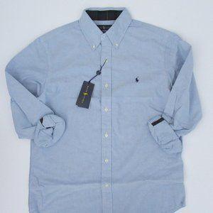 Ralph Lauren Long Sleeve Brushed Oxford Shirt NWT